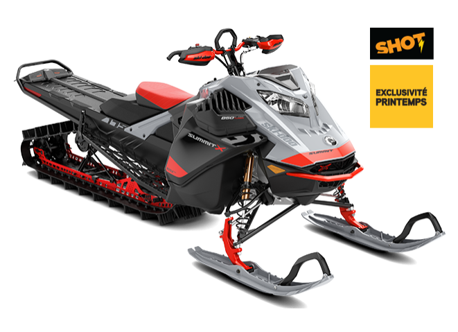 Ski-Doo SUMMIT X AVEC ENSEMBLE EXPERT ROTAX 850 E-TEC Turbo 2021